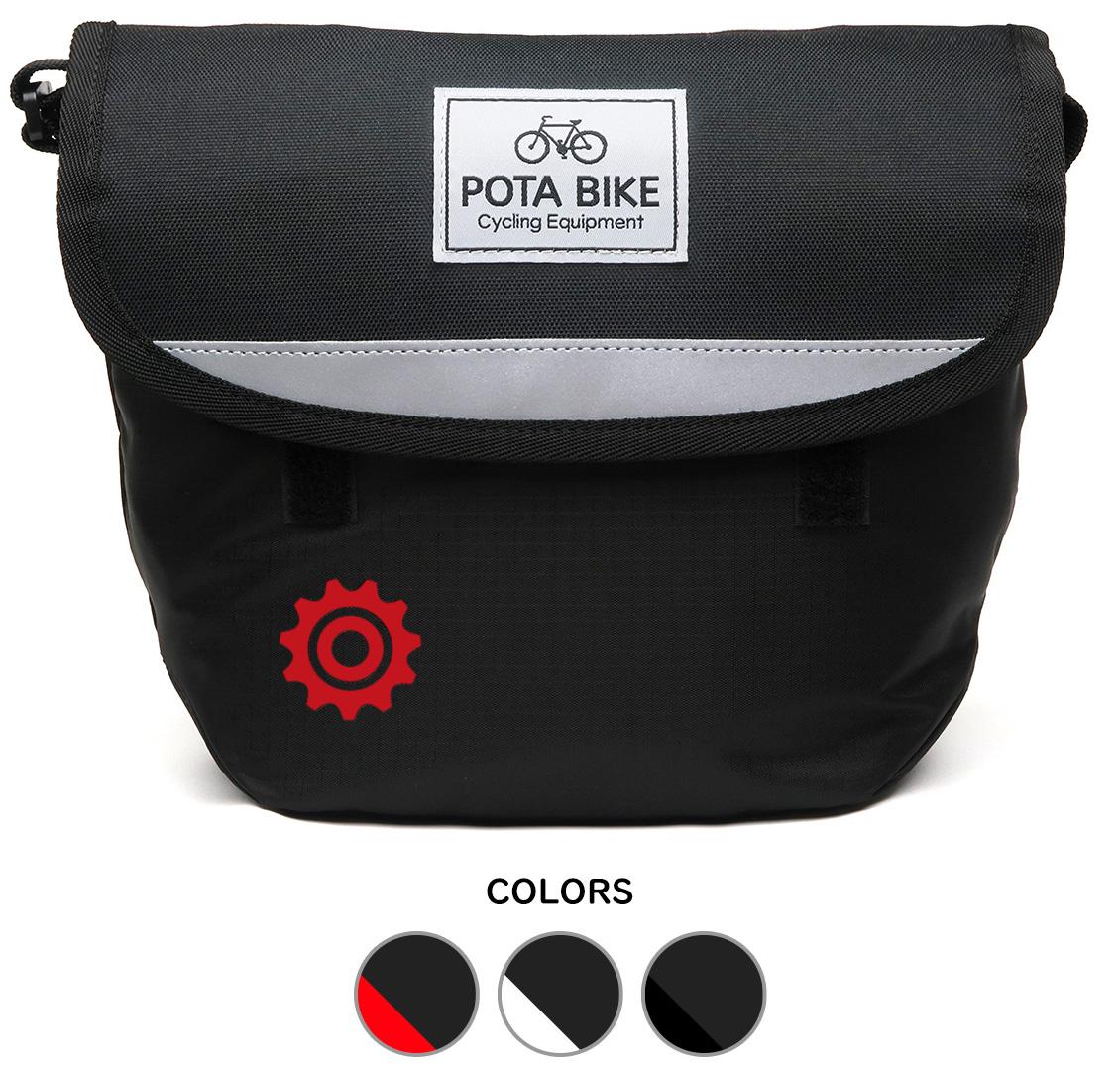 POTA BIKE シンプルフロントバッグの画像