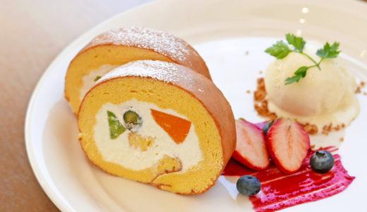 季節のロールケーキ