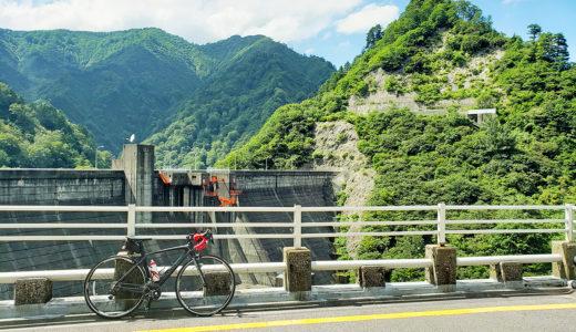 新潟県|奥胎内を目指して山道を走ると見られる『胎内川ダム』