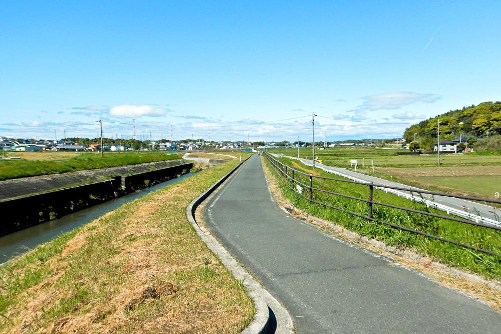 知多半島サイクリングロードの風景