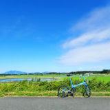 小貝川自転車道の途中、福岡堰付近の風景