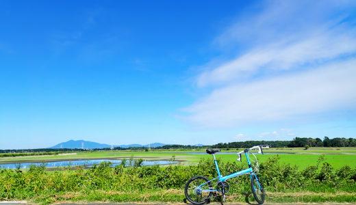 小貝川サイクリングロードの途中で美しい風景が見られる場所