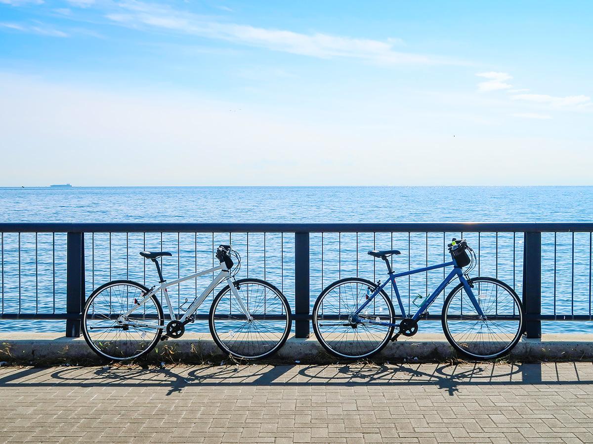 淡路島のレンタサイクル「トモチャリ」の利用イメージ写真